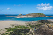 Grand Be Island and Petit Be fort. Saint-Malo