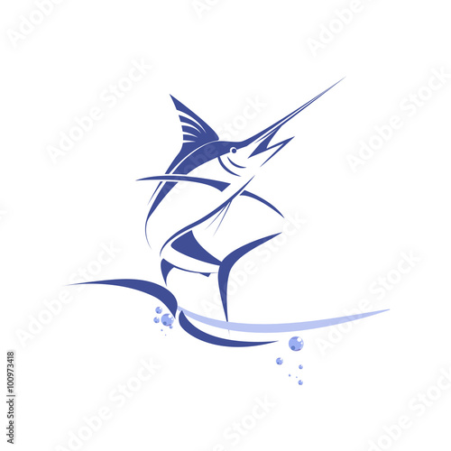 marlin fish Canvas Print