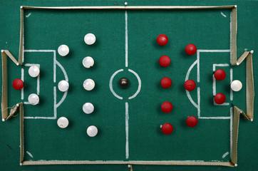 homemade football field