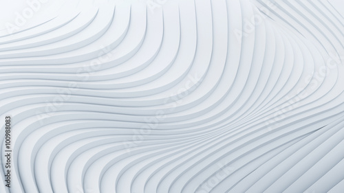Poster Fractal waves Wave band abstract background surface