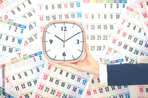Fotografia, Obraz  カレンダーと時間管理