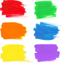 Bright Rainbow Colors Vector M...