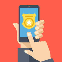 Call Police App On Smartphone ...