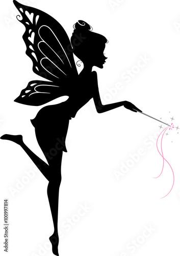 Fotografie, Tablou  Fairy Silhouette