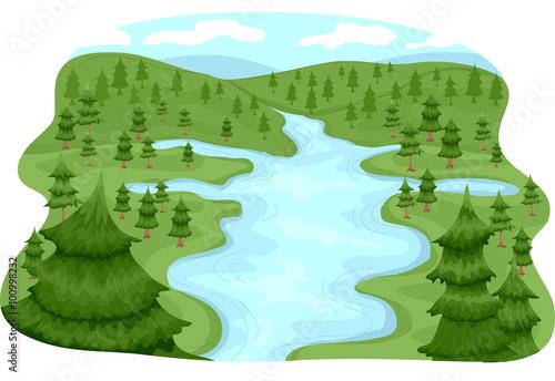 Valokuva  River Basin