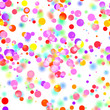 colorful circles seamless abstract background