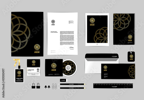 Corporate identity template for your business includes cd cover corporate identity template for your business includes cd cover business card folder ruler colourmoves