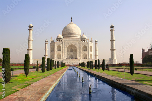 Taj Mahal mausoleum, Agra, India