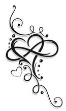 Herz, Valentinstag, Unendlichkeit
