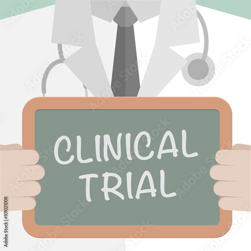 Fotografia  Medical Board Clinical Trial