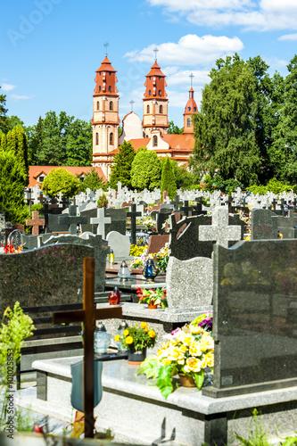 Keuken foto achterwand Begraafplaats Hajnowka, Podlaskie Voivodeship, Poland