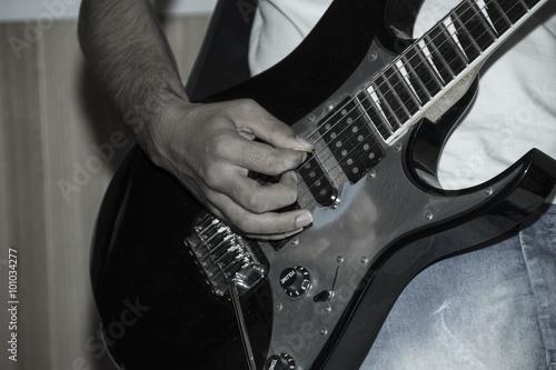 Fototapety, obrazy: Tocando Guitarra