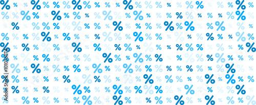 Fotografía Sale banner with percent.