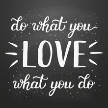 'Do What You Love' Poster