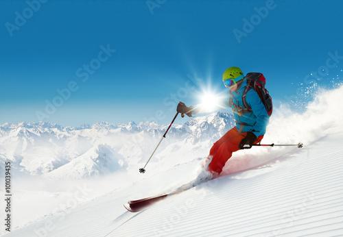 narciarz-na-stoku