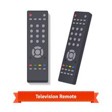 Retro Remote Control At Different Angles