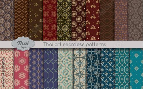 vector damask seamless pattern background Fototapete