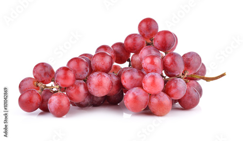 Obraz na plátne grape on white background