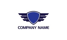 Wing Badge Logo. Put Anything To Center Of The Badge. Enjoy!