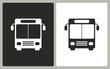 Bus - vector icon.