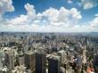 Aerial View of Anhangabau Valley, Sao Paulo, Brazil