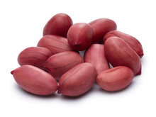Raw Shelled Peanuts With Clipping Paths