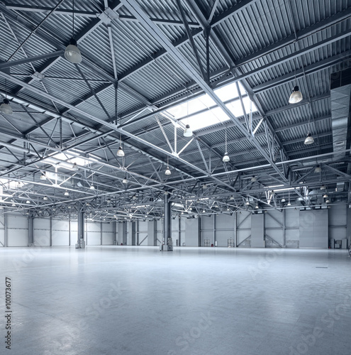 Foto op Canvas Industrial geb. Modern empty storehouse