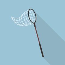 Butterfly Net Flat Icon