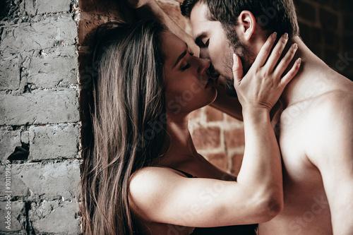 Just one kiss. Fototapeta