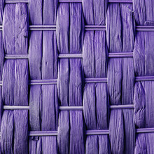 Imaginative Purple Woven Reed / Wood Abstract Background Texture