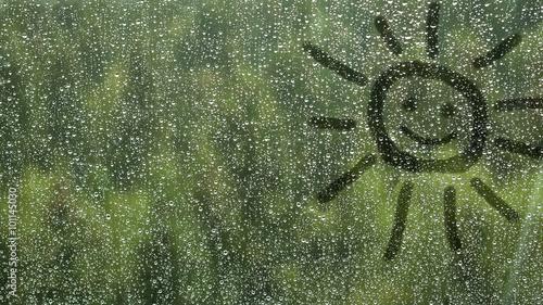 obraz PCV Rain