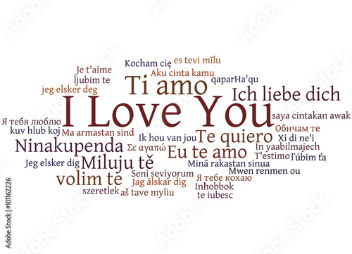 Te amo is i love you in what 3 languages
