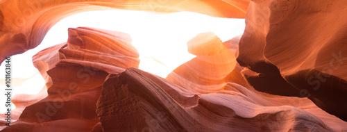 Poster Antilope antelope canyon texture