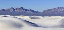 Sand Dunes And San Andres Moun...