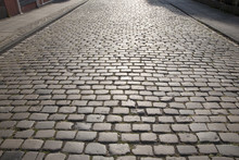 Cobble Stone Street Background, Cologne