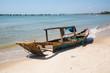 Fischerboote in Phan Thiet und Mui Ne in Vietnam