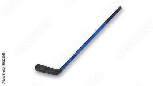 Photo  Hockey stick, sports equipment isolated on white background