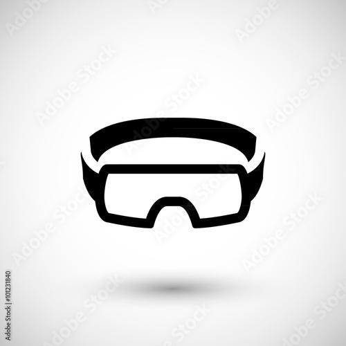 Fényképezés  Protective goggles icon
