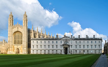 The King's College Chapel In Cambridge