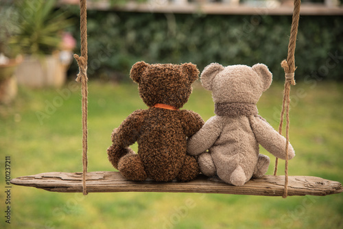 Foto Teddy bear in love