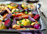 Fototapeta Fototapety do kuchni - Roasted fruits and vegetables