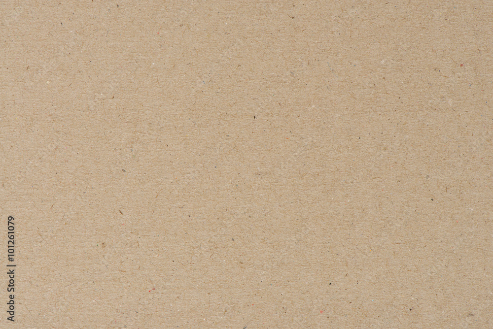 Fototapety, obrazy: Paper texture - brown kraft sheet background.