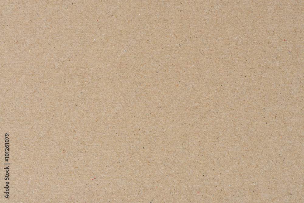Fototapeta Paper texture - brown kraft sheet background.