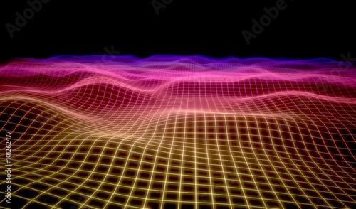 Fotobehang - dot light background