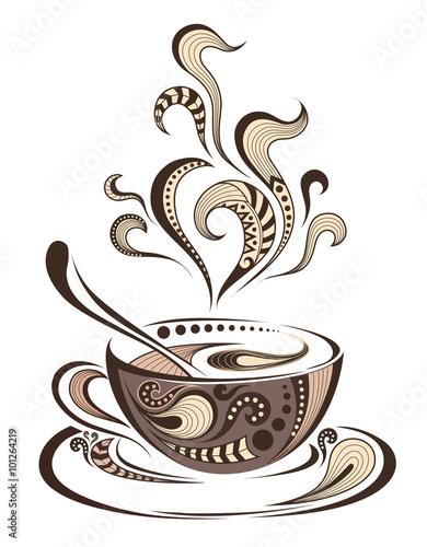 wektorowa-grafika-w-odcieniach-brazu-z-filizanka-kawy