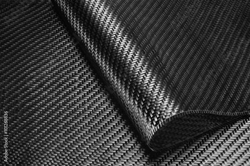 Carbon Fiber Cloth Fabric. Poster