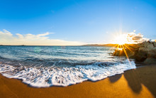 Sunset Along The Mediterranean...
