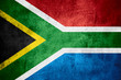 canvas print picture - Republic of South Africa flag
