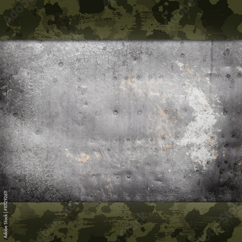 Camouflage military background - 101292611