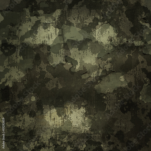 Camouflage military background - 101292659